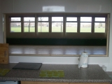 <h5>Scout Hall</h5><p>The view of the hall from the Kitchen</p>
