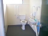 <h5>Scout Hall</h5><p>The disabled toliet</p>